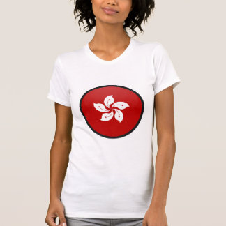 Hong Kong quality Flag Circle Tshirts
