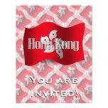 Hong Kong que agita la bandera Anuncios