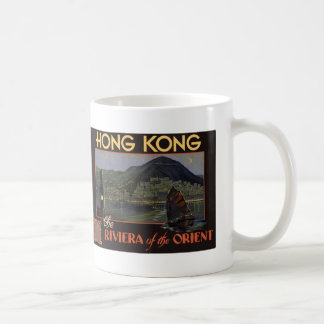 Hong Kong ~ Riviera of the Orient Classic White Coffee Mug