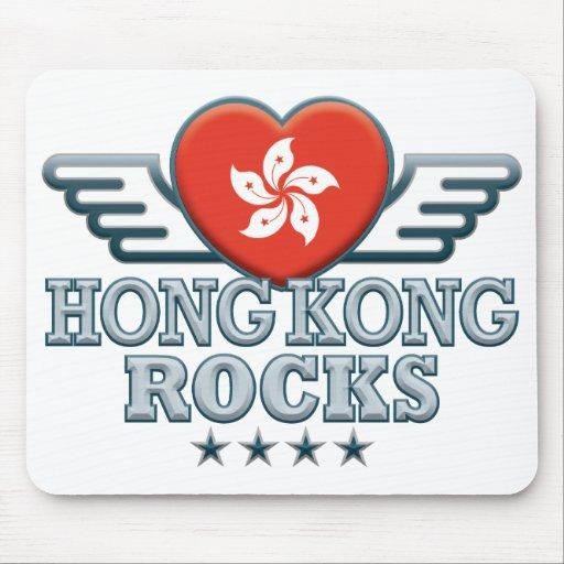 Hong Kong Rocks v2 Mousepads