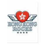 Hong Kong Rocks v2 Postcards