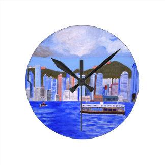 Hong Kong Round Clock