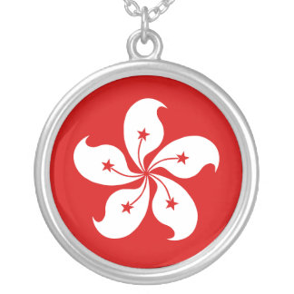 Hong Kong Round Pendant Necklace