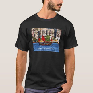 Hong Kong Sampan The Pearl of the Orient T-Shirt