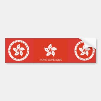 Hong Kong SAR Bumper Sticker