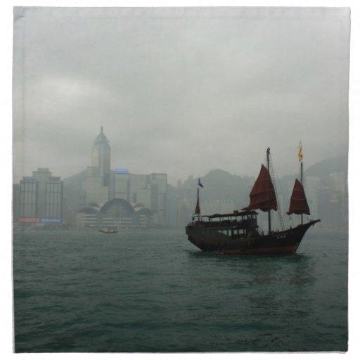 Hong Kong Servilletas Imprimidas
