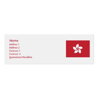 Hong Kong - Skinny Business Card Template