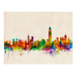 Hong Kong Skyline Cityscape Post Cards