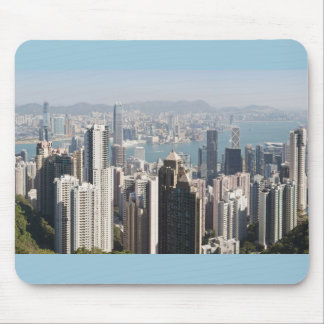 Hong Kong Skyline from Victoria Peak Mouse Pad