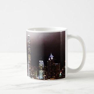 Hong Kong skyline mug