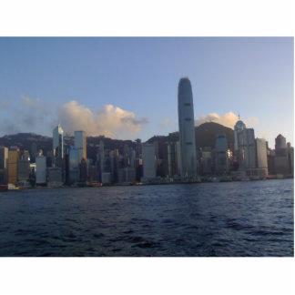 HONG KONG SKYLINE PHOTO SCULPTURE