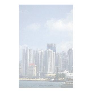 Hong Kong skyline Custom Stationery