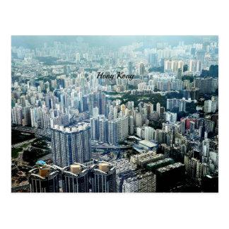 Hong Kong Skyscrapers Postcard