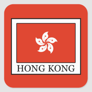 Hong Kong Square Sticker