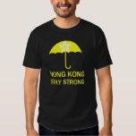 Hong Kong Stay Strong Umbrella Revolution Protests Tshirt
