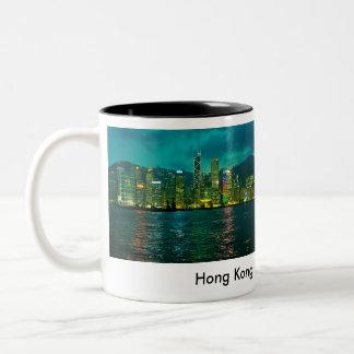 Hong Kong Taza De Dos Tonos