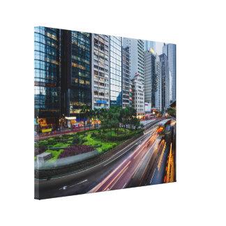 Hong Kong Traffic canvas print