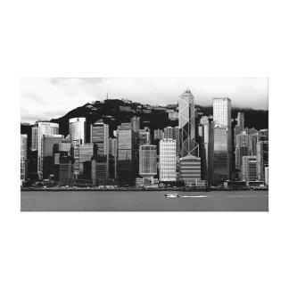 Hong Kong Victoria Harbor Gallery Wrap Canvas