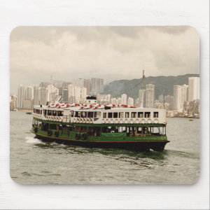 Hong Kong Victoria Harbour Star Ferry Mousepad mousepad