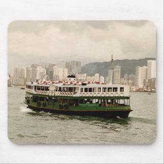 Hong Kong Victoria Harbour Star Ferry Mousepad