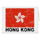 Hong Kong Vintage Flag Cards