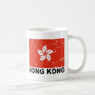Hong Kong Vintage Flag Coffee Mug
