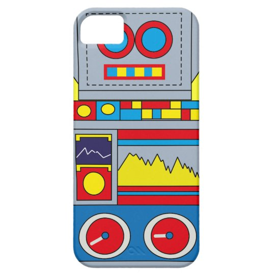 Hong Kong Vintage Robot Toy Graphic i Phone cover