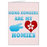 Hong Kongers are my Homies Cards