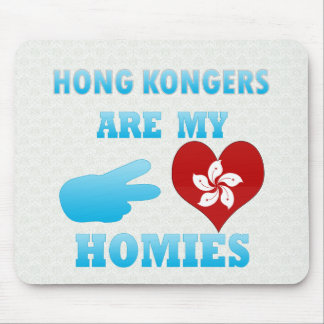 Hong Kongers are my Homies Mouse Pads