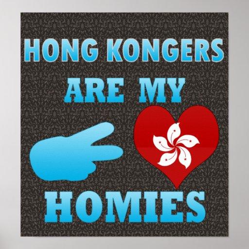 Hong Kongers are my Homies Print