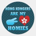 Hong Kongers are my Homies Stickers