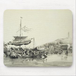 """Hong Shang, platea 17 de los """"bosquejos de China"""", Alfombrillas De Raton"""