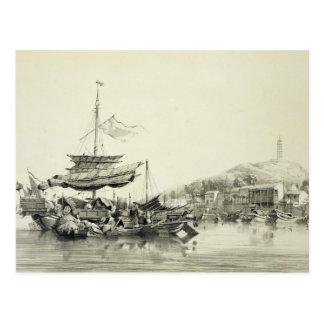 """Hong Shang, platea 17 de los """"bosquejos de China"""", Tarjetas Postales"""