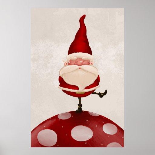 Hongo de Papá Noel Poster