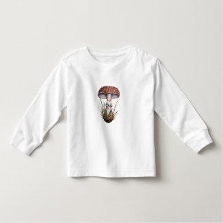 Hongo de Rubescens de la amanita de la impresión Camisetas