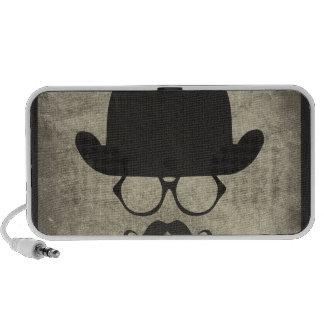 Hongo del bigote de la Deber-Rociada del caballero Mp3 Altavoz