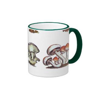 hongo tazas de café