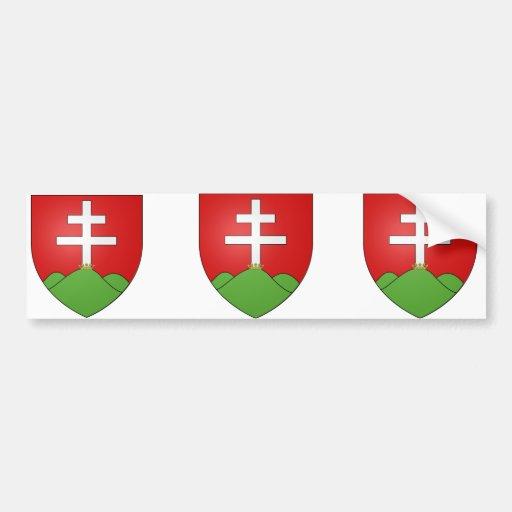 Hongrie ancien, Hungary Bumper Sticker