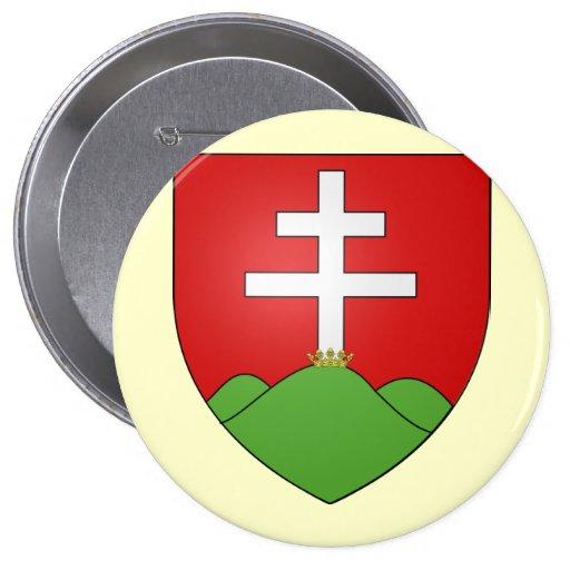 Hongrie ancien, Hungary Pinback Button