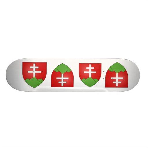 Hongrie ancien, Hungary Custom Skateboard