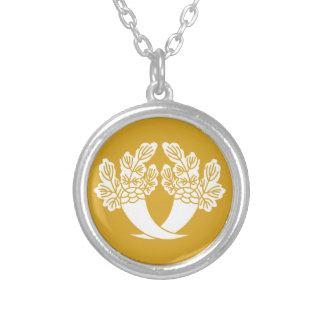 Honjo Japanese radish Round Pendant Necklace