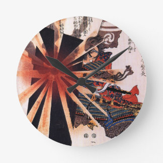 Honjo Shigenaga parrying an exploding shell Round Clock