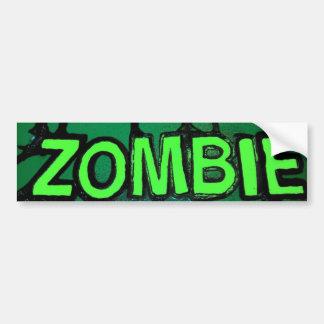 Honk 4 Zombies Car Bumper Sticker