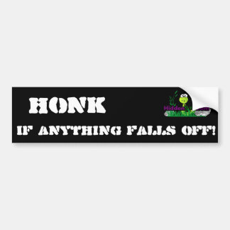Honk Car Bumper Sticker