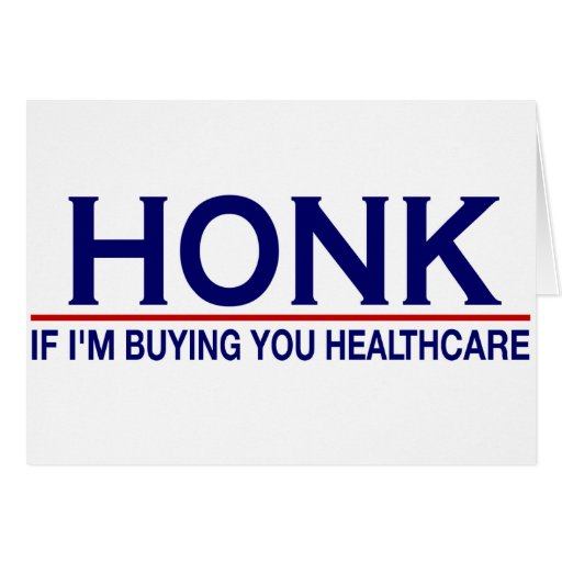 Honk Healthcare (Obamacare) Card