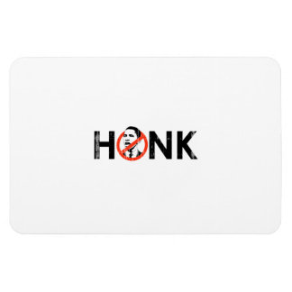 HONK IF 6- Faded png Rectangular Magnet