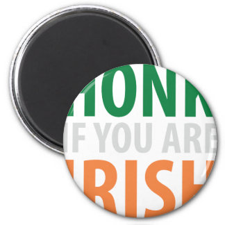 honk if you are irish magnet