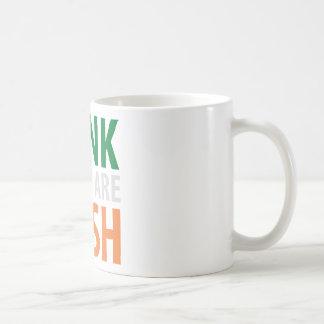 honk if you are irish mug