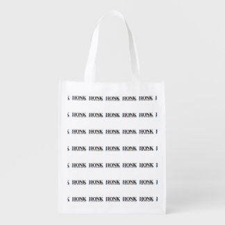 Honk if you hate Hillary Reusable Grocery Bag