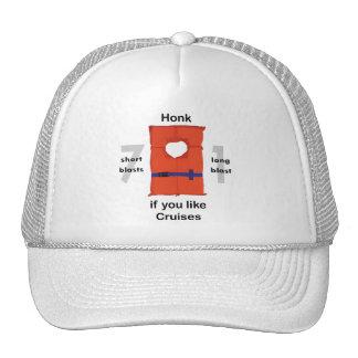 Honk If You Like Cruises Hats